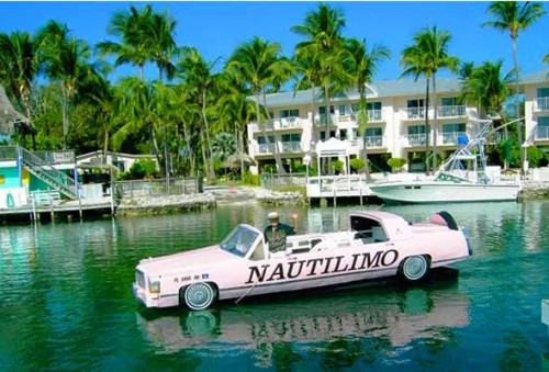 NautiLimo: Cadillac Stretch Limo Boat
