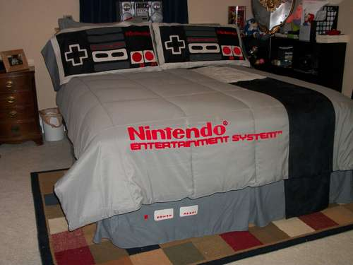 nes bedding 7 Cool Nintendo Bedding Items