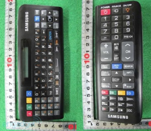 samsung double remote 500x435 Got Buttons? Samsung Double Sided Remote Control