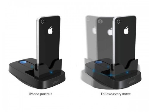 Satarii Star is an iPhone Dock That Rotates with the Action