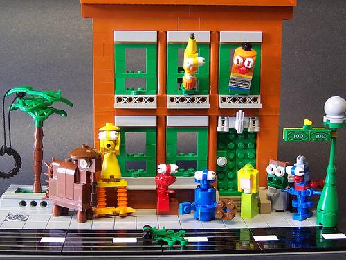 Sesame Street Legos