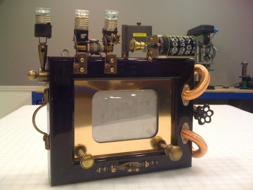 Steampunk Etch-a-Sketch