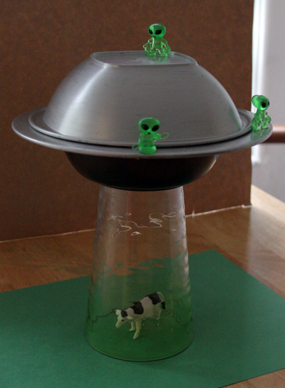 alien abduction lamp diy Pinboard