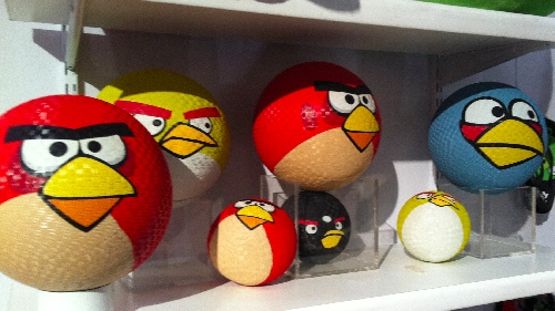 TF11: Angry Birds Rubber Playground Balls