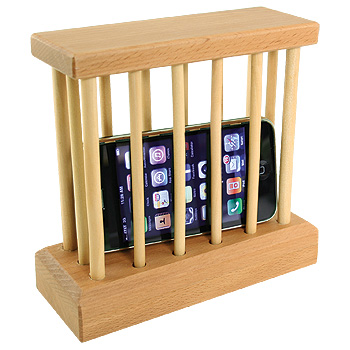 cell phone prison Pinboard