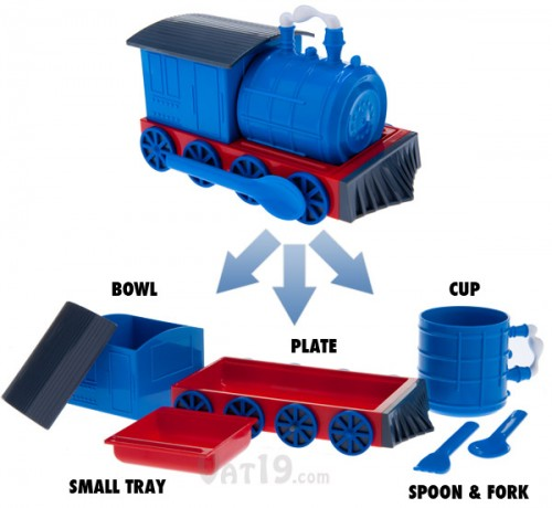 Chew Chew Train Transforming Dinner Set