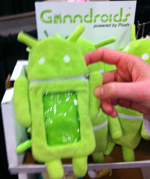 TF11: Ganndroids Plush Android Phone Case and Dolls