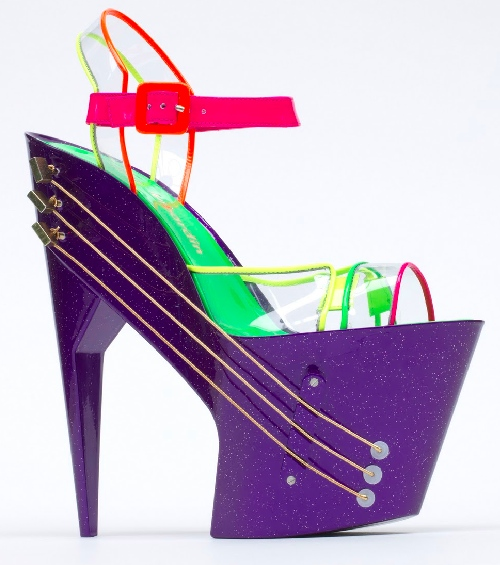 Working High Heel Guitar Shoe from Chicks on Speed