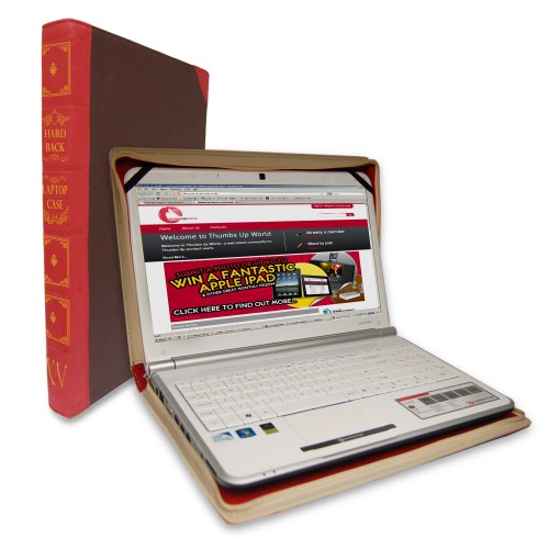 Hardback Laptop Case Looks Like a Hardcover Book