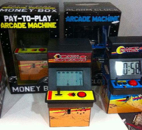 TF11: Pay to Play Arcade Machine Bank
