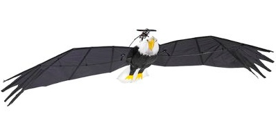 10 Foot Wingspan Remote Controlled Bald Eagle