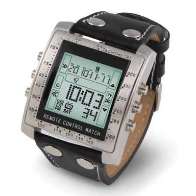 Television Remote Control Watch