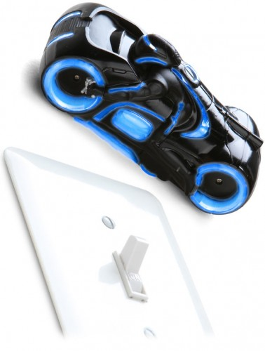 R/C Wall Climbing Tron Light Cycle