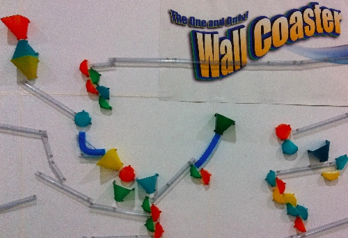 TF11: Wall Coaster Marble Run