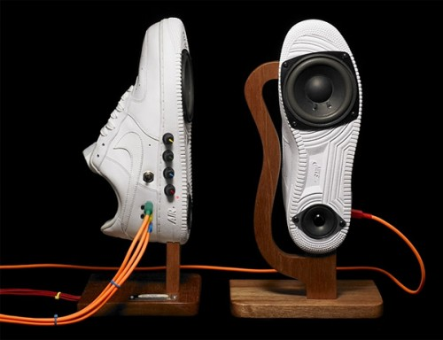airforce1 sneaker speakers 500x384 Pinboard