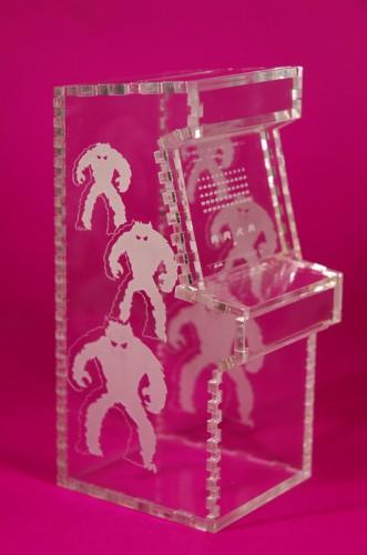 Laser Cut Acrylic Arcade Cabinet