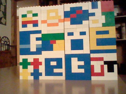 Lego Logos Wall