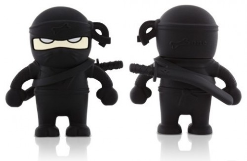 Bone Collection Ninja USB Flash Drive