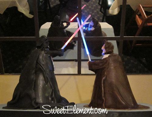 Obi-Wan Kenobi vs Darth Vader Cake