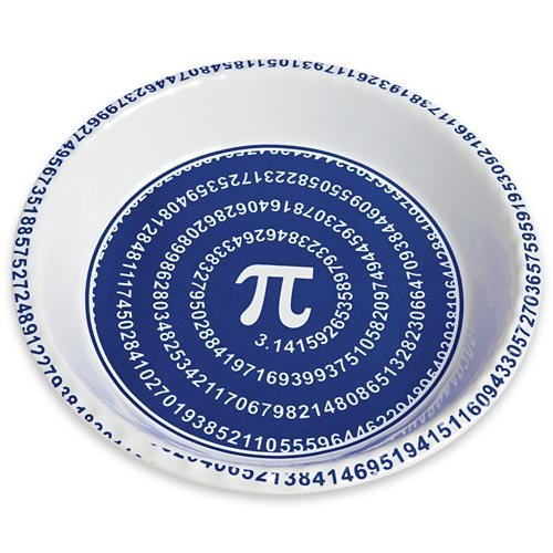 pi plate 10 Geeky Pi Items to Help Celebrate Pi Day (3.14)