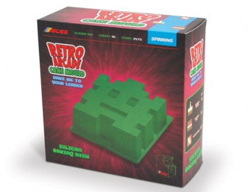 Space Invaders Cake Mold