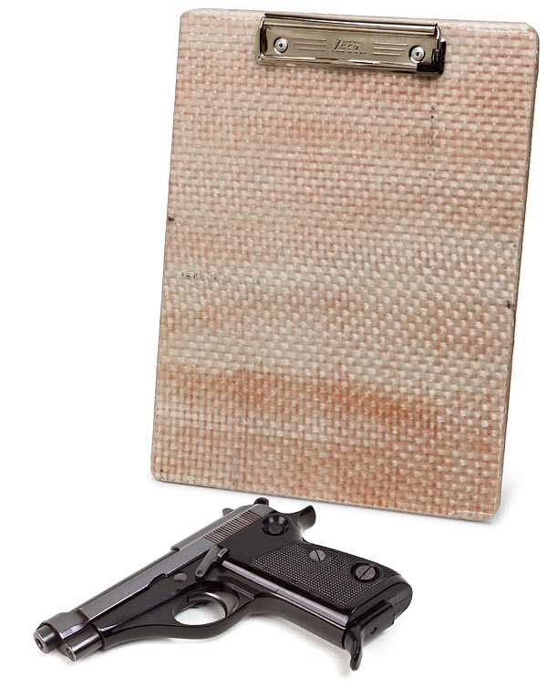 bulletproof body armor clipboard Pinboard