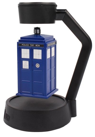 Dr. Who Spinning Levitating Tardis
