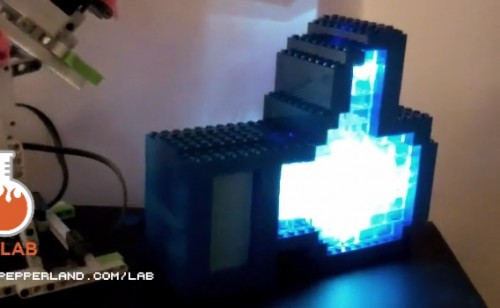 Light Up Lego Facebook Like Hand