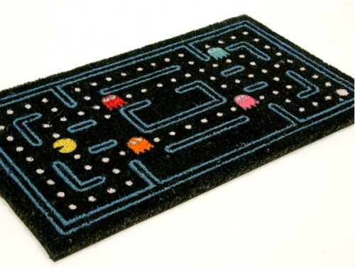 pac man door mat 500x377 Pac Man Doormat