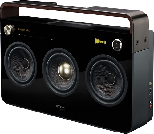 TDK Brings the Boombox Back with a 3 Speaker System