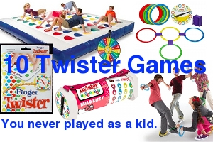 10 Twister Games You Never Played as a Kid