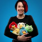 Plush Angry Birds with Sound