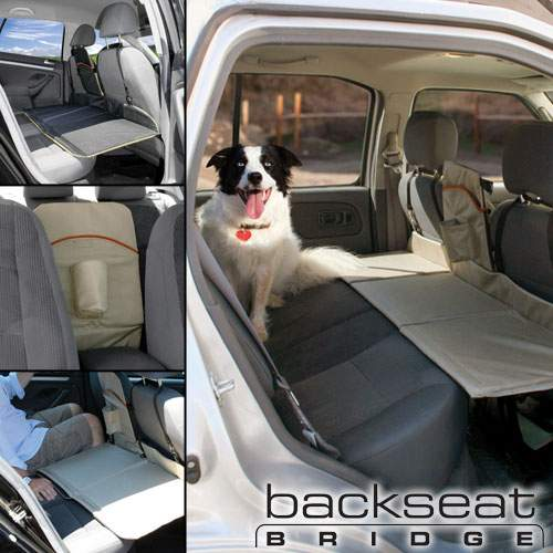 Kurgo Backseat Bridge Keeps Pets from Falling