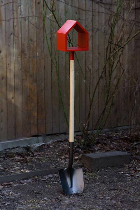Birdhouse Shovel