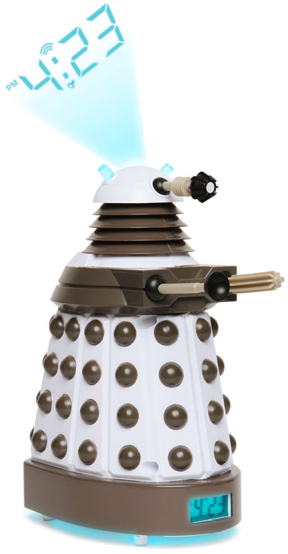 Dr. Who Dalek Projection Clock