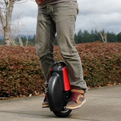 Anyone can Unicycle with a Gyroscopic Electric Unicycle
