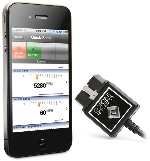 GoPoint GL1 iPhone Vehicle Diagnostic Kit