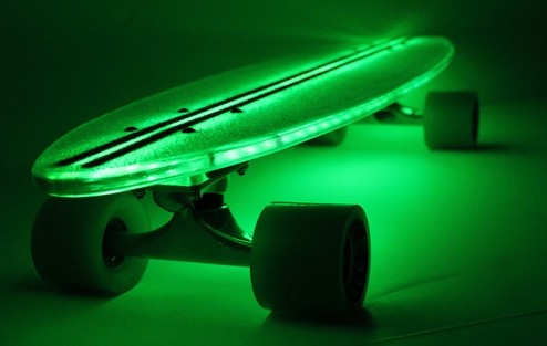 light up skateboard Light up LED Skateboards