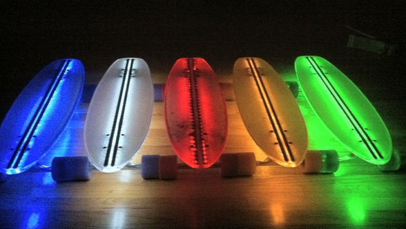 Light-up LED Skateboards
