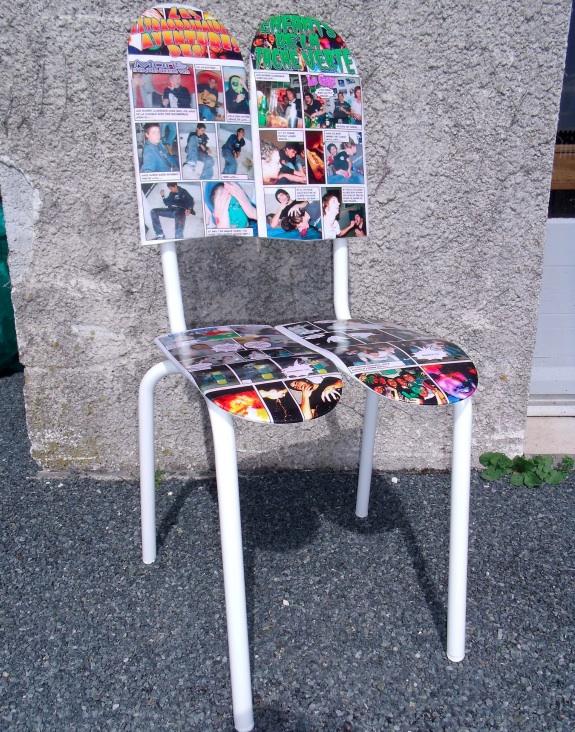 Skateboard Chairs Craziest Gadgets
