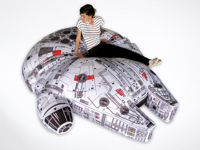Beanbag Millennium Falcon's Got it Where it Counts