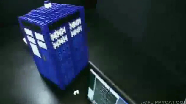 Dominos Dr. Who Tardis