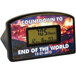 end of the world countdown Pinboard