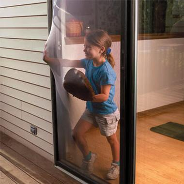 Flexible Screen Door
