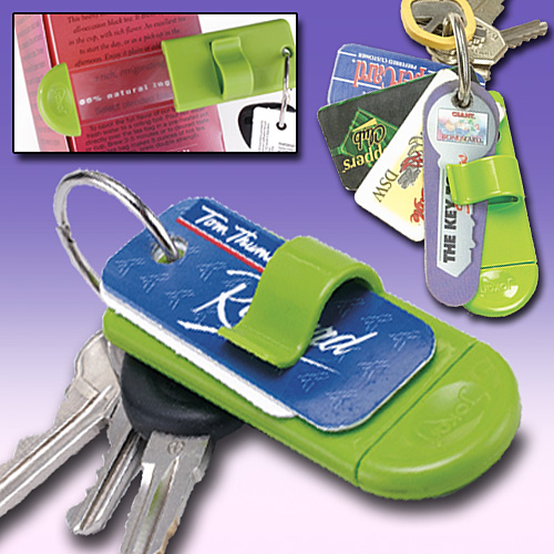 Key Card Holder and Magnifier