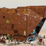 3 Foot Long, 10,000 Piece Lego Sandcrawler from Star Wars