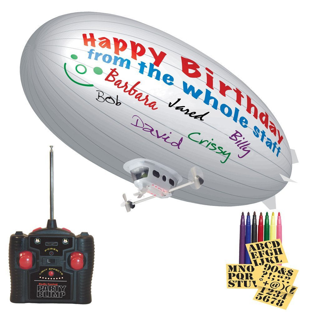 Decorate Your Own R C Party Blimp Craziest Gadgets