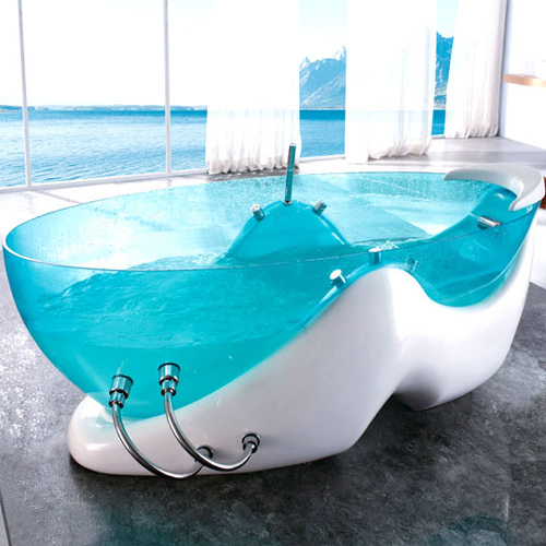 Transparent Bathtub is Clearly Awesome