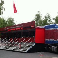 Vodafone Truck Can Charge 2000 Cell Phones