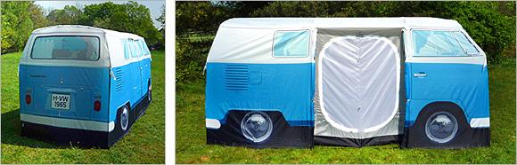 Itu0027s ... & VW Camper Van Tent -Craziest Gadgets